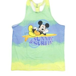 Other - Vintage Disney Mickey Mouse Sunnin & Surfin Tee
